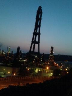 室蘭夜景。