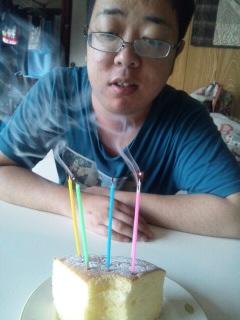 誕生日おめでとう。
