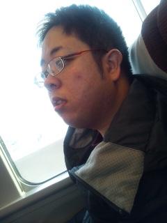 今日は電車で・・