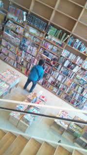 本がいっぱいだ〜♪