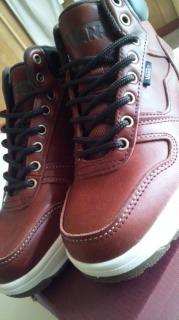 新しい冬靴。